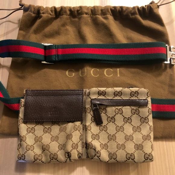 cb3fec37c81 Gucci Handbags - GUCCI Fanny Pack  Authentic  like new + Dust bag